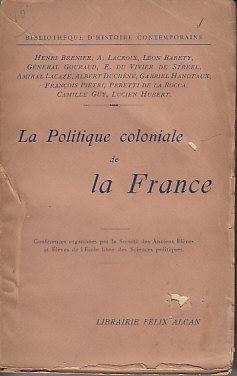 La Politique Coloniale De La France