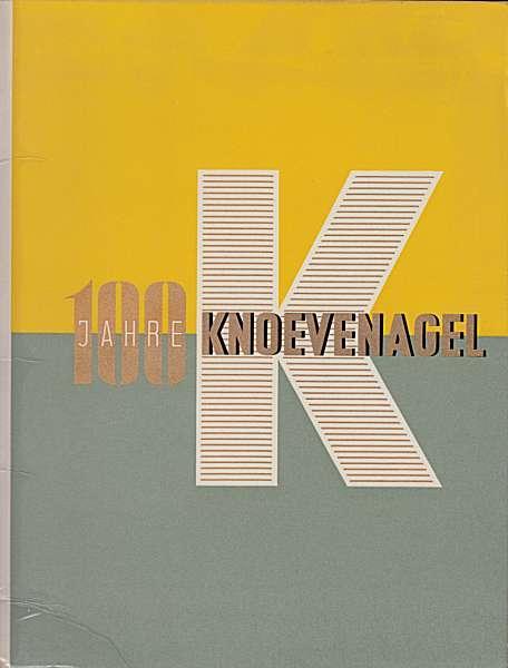 100 Jahre A. Knoevenagel 1856-1956