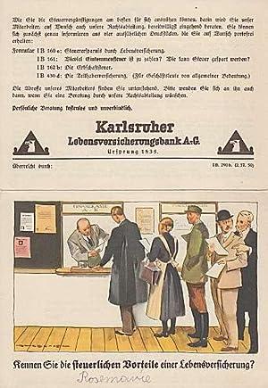 Kennen Sie die steuerlichen Vorteile einer Lebensversicherung?: Karlsruher Lebensversicherungsbank A.-G.