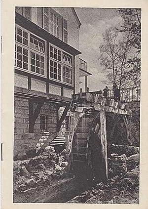 Hotelprospekt (um 1958): Hotel-Waldgasthaus