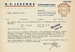 K.C. Jeschke. Bandfabrik.