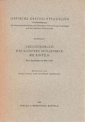 Urkundenbuch des Kloster Möllenbeck bei Rinteln. Teile: Engel, Franz und