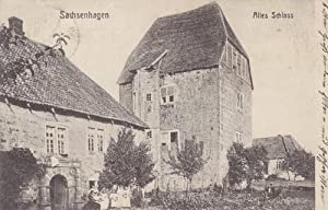 Altes Schloss. S/W.
