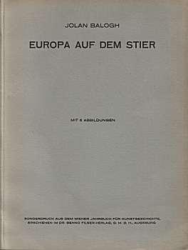 Europa auf dem Stier (um 1930): Balogh, Jolan