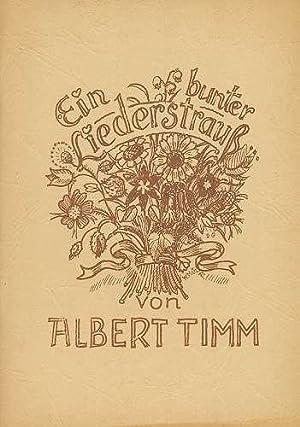 Ein bunter Liederstrauß (1970): Timm, Albert