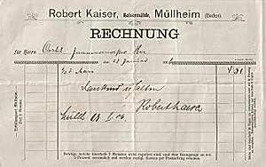 Robert Kaiser. Kaisermühle. 1906