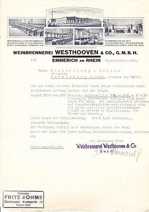 Weinbrennerei Westhoven & Co., G.M.B.H. 1942