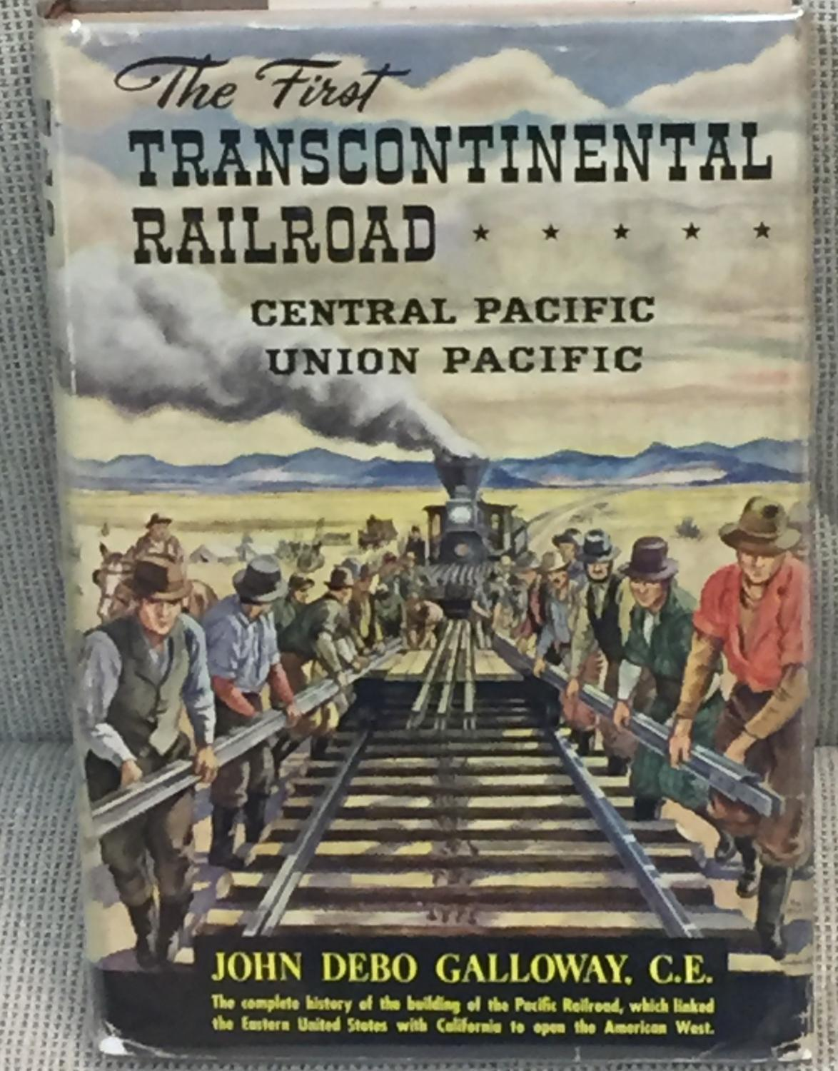 the first transcontinental railroad P3 chapter 1 the pacific railroad the traveler speeding west from omaha on the overland route may give but little thought to the smooth roadbed and comfortable he is on one of the world's great travel routes, that of the first transcontinental railroad, which was built in the sixties,º linking omaha.