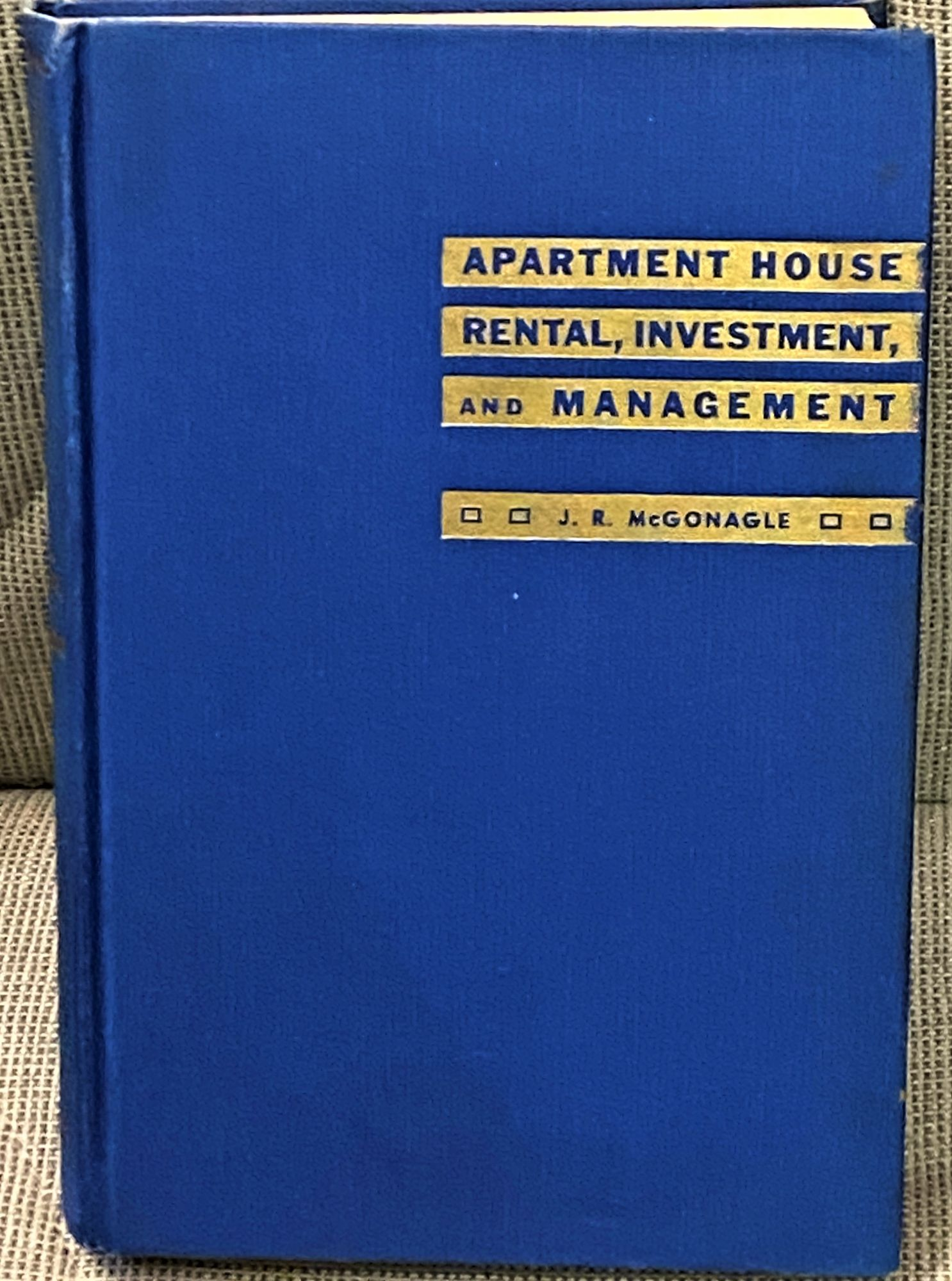 Apartment House Rental, Investment, and Management J. R. McGonagle [ ] (bi_19387211320) photo