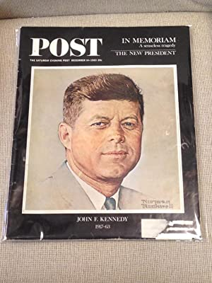 The Saturday Evening Post December 14 1963: Norman Rockwell (Cover)