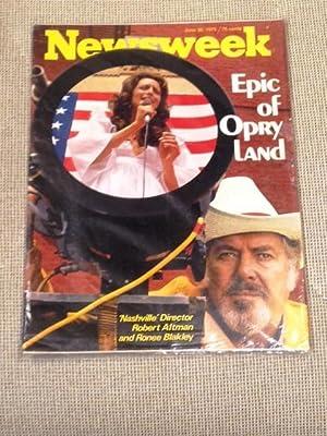 Newsweek Magazine, June 30, 1975, Nashville: Newsweek Magazine