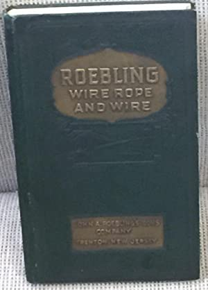 Roebling Catalog, Wire Rope Lists of January: John A. Roebling