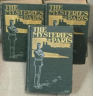 The Mysteries of Paris, 3 Volumes: Eugene Sue