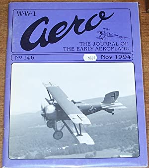 WWI Aero the Journal of the Early: Leonard E. Opdycke(editor)