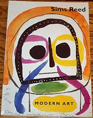 Sims Reed Modern Art Illustrated Books Reference: Sims Reed