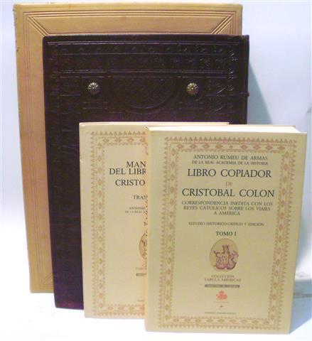 LIBRO COPIADOR DE CRISTOBAL COLÓN. Correspondencia Inédita con los Reyes Cató...