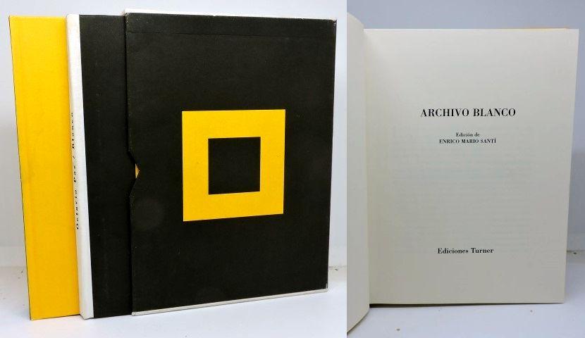 ARCHIVO BLANCO. Edición de Enrico Mario Santí (2 Tomos) - PAZ, Octavio