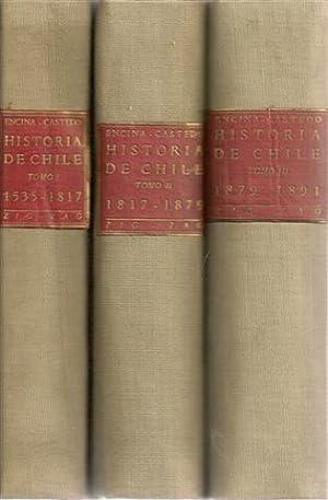RESUMEN DE LA HISTORIA DE CHILE -: ENCINA, Francisco A.