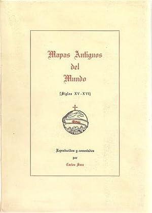 MAPAS ANTIGUOS DEL MUNDO (Siglos XV -: SANZ, Carlos