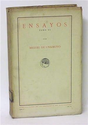 ENSAYOS - Tomo VI - Ramplonería: UNAMUNO, Miguel de