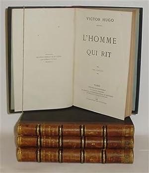 L'HOMME QUI RIT - 4 Tomos: HUGO, Victor
