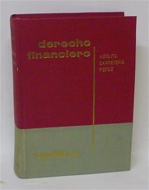 DERECHO FINANCIERO: CARRETERO PÉREZ, Adolfo