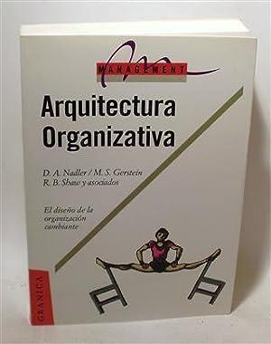 ARQUITECTURA ORGANIZATIVA: NADLER, David A. - GERSTEIN, Marc. S. - SHAW, Robert B. y Asociados