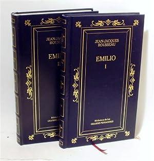 EMILIO - Obra Completa (2 Tomos): ROUSSEAU, Jean-Jacques