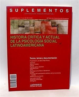 SUPLEMENTOS - Materiales de Trabajo Intelectual -: NOGUEIRA DOBARRO, Ángel