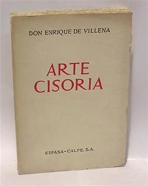 ARTE CISORIA: VILLENA, Enrique de