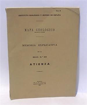 MAPA GEOLÓGICO - MEMORIA EXPLICATIVA DE LA: Instituto Geológico y