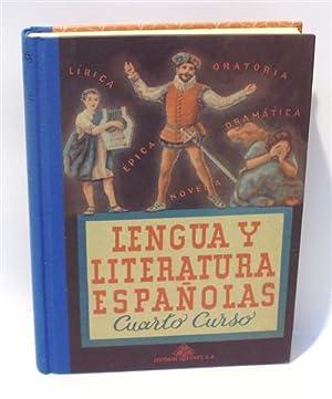LENGUA Y LITERATURA ESPAÑOLAS - Cuarto Curso por Edelvives