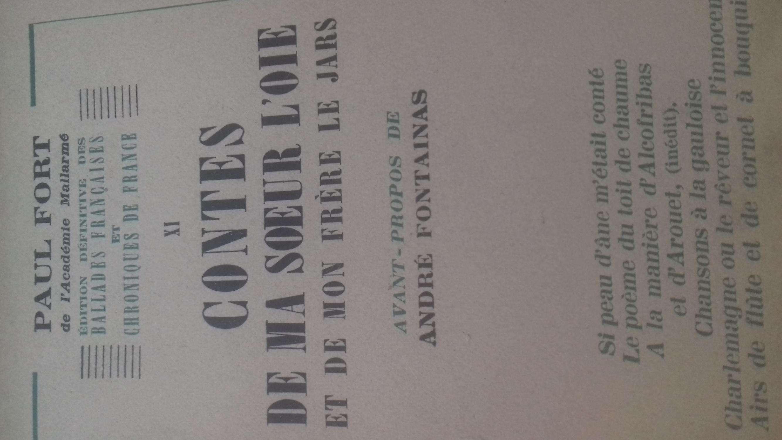 Edition Definitive Des Ballades Francaises