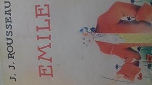 emile ou de l'éducation: jean-jacques rousseau