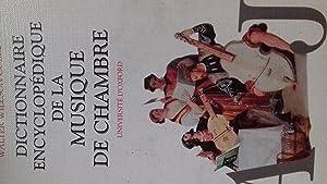 Dictionnaire encyclopédique de la musique de chambre,: walter willspn cobbett