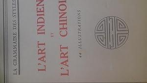 L'art indien l'art chinois: henry martin