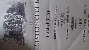Le civilisateur, histoire de l'humanite par les grands hommes,: alphonse de lamartine