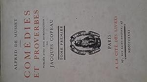 comédies et proverbes t1: alfred de musset