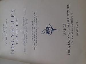 nouvelles et contes 2 tomes: alfred de musset