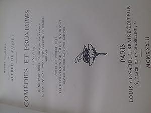 comédies et proverbes 1836-1849: alfred de musset
