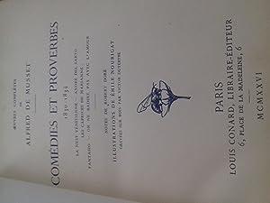 comédies et proverbes 1830-1834: alfred de musset