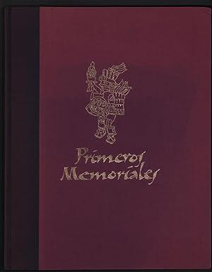 Primeros Memoriales (Codice Matritense del Real Palacio).: Fray Bernardino De Sahagun; Howard F. ...