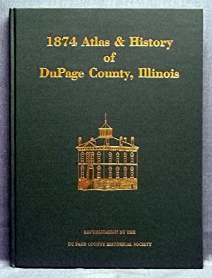 Combination Atlas Map Of DuPage County Illinois