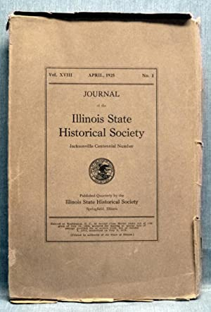Journal Of The Illinois State Historical Society