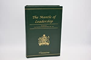 The Mantle of Leadership : Premiers of the Northwest Territories and Alberta, 1897-2005