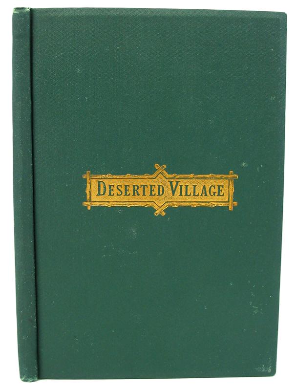 oliver goldsmith deserted village vs george c