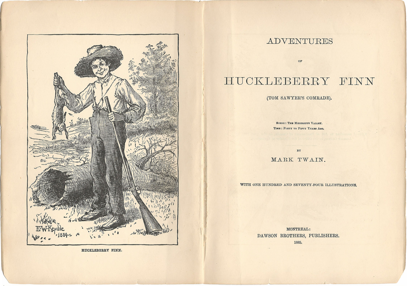 huckleberry finn influences on huck Expository essays term papers (paper 4615) on the adventures of huckleberry finn - early influences on huck finn: mark twain's the adventures of huckleberry finn is a novel about a young boy's coming of age in the missouri of the mid-1800's.