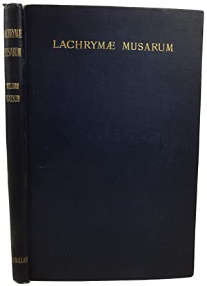 Lachrymae Musarum and Other Poems.: WATSON, William