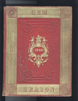 The Gem of the Season for 1849.: AMERICAN Literary Annual].