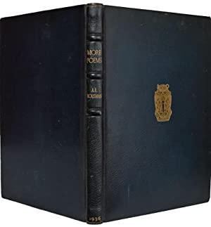 More Poems.: HOUSMAN, A.E.